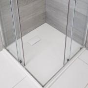 HudsonReed Receveur de douche blanc carré 90x90cm - Rockwell