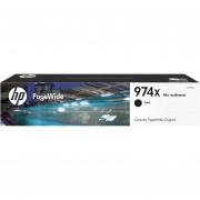 Cartucho HP de alta capacidad PageWide 974X-Negro