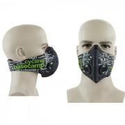 Mondmasker met Actieve Koolstof Geschikt voor op de Fiets of Motor