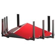 Router Wireless D-Link DIR-895L, Gigabit, Tri Band, 5300 Mbps, 8 Antene externe (Rosu)