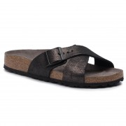 Чехли BIRKENSTOCK - Siena 1014377 Washed Metallic Antique Black