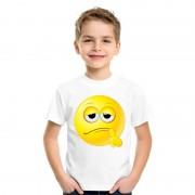 Bellatio Decorations Smiley t-shirt bedenkelijk wit kinderen