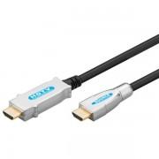 Goobay HDMI Kabel HDMI-HDMI Ethernet 3D 1080p 60Hz 20m Schwarz vergoldet