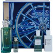 Hermès Un Jardin Sur Le Nil set cadou VII. Apa de Toaleta 100 ml + Apa de Toaleta 7,5 ml + Gel de dus 40 ml + Loțiune de corp 40 ml