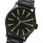 Reloj Nixon A3561256 Sentry Ss Japon-Negro