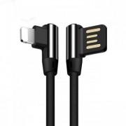 Apple USB-kabel laddare till iPhone & ipad Bekväm Utformning - Svart