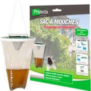 PROTECTA Sac à Mouches 2.5 L jetable Mouch'Clac