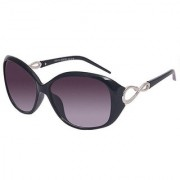 HH Jazz008black Black Oval Sunglasses