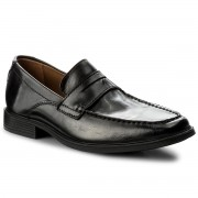 Обувки CLARKS - Tilden Way 261315837 Black Leather