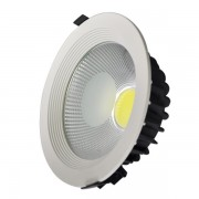 Spot COB LED Incastrabil 30W Rotund 225x80mm 220V Alb Rece 6500K HC