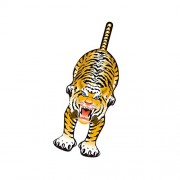 WindnSun SkyZoo Tiger Nylon Kite-59 Inches Tall