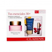 Clarins Multi-Active confezione regalo crema viso giorno 50 ml+ crema viso notte Multi-Active Nuit 15 ml + lip gloss Comfort Oil 2,8 ml 02