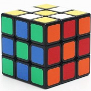 Speed Cube, FunBlast™ 3x3x3 Sticker Speed Cube Smooth Magic Cube Puzzle Vivid Colors, Stickered Edition