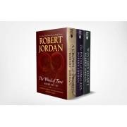 Wheel of Time Premium Boxed Set III: Books 7-9 (a Crown of Swords, the Path of Daggers, Winter's Heart), Paperback/Robert Jordan