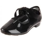 Dance Class Flexible Tap Shoe (Toddler/Little Kid),Black,10.5 M US Little Kid