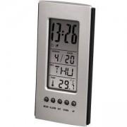 Настолен часовник, Цифров термометър, Календар, Аларма, HAMA-75298