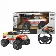 Rastar Radio-controlled Car Mitsubishi Pajero Evo 1:18 Red 20100