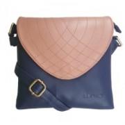 B BLUES Blue Sling Bag