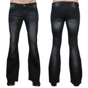 Herren Hose (Jeans) WORNSTAR - Starchaser - Jahrgang Schwarz - WSP-SCKV