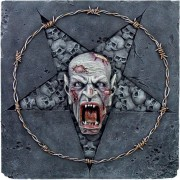 relief Skull Pentagram - 766-6167