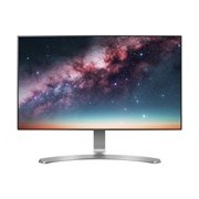 "LG 24MP88HV-S 60.5 cm (23.8"") Full HD LED LCD Monitor - 16:9 - Silver, White"