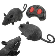 Scary Infrared RC Simulation Science Education Plush Mouse Toy For Kids Children Birthday Gift
