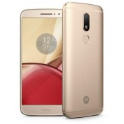 Certified Used MOTO M 4 GB RAM 64 GB Internal Memory Gold Color ( 1 Year Warranty Bazaar Warranty)