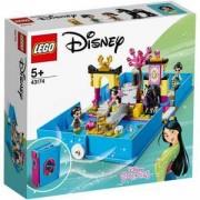 Конструктор Лего Дисни Принцеси - Приключенията на Мулан, LEGO Disney Princess 43174