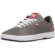 DC Men s Astor Skateboarding Shoe Grey/Red/White 9.5 D(M) US