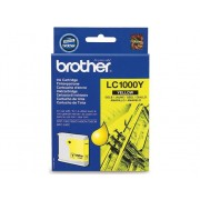 Brother Cartucho de tinta Original BROTHER LC1000Y Amarillo para BROTHER DCP-350, 353, 357, 560, 750, 770, MFC-3360, 465, 5460, 5860, 660, 680, 845, 885