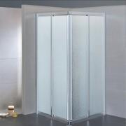 Box doccia scorrevole ad angolo 3601 da 68/72 cm in crilex 3 mm
