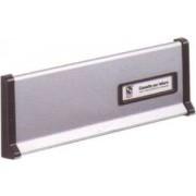 Placca alluminio buca per lettere Silmec art.10.600.72