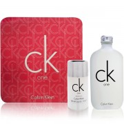 Calvin Klein CK One Комплект (EDT 100ml + DeoStick 75ml) за Мъже и Жени