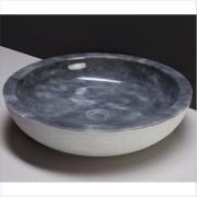 forzalaqua Waschbecken Naturstein VERONA XL (50 cm) Marmor, 100066