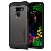Carcasa Spigen Tough Armor LG G8 ThinQ Gunmetal