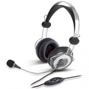 Genius-HS-04SU-Black-Silver-Headset-with-Noise-Canceling-microphone