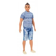 Barbie Ken Fashionistas Distressed Denim Doll