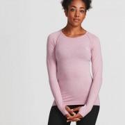 IdealFit Seamless Long Sleeve Top - Pink - S - Pink