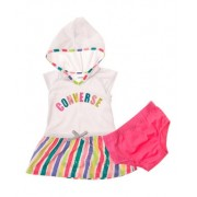 Converse - Rochita fetite Set Color Logo Hooded