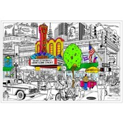 Matinee - Giant 22 X 32.5 Inch Line Art Coloring Poster