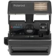 Polaroid originals Refurbished 600 camera step close up