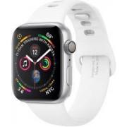Apple Spigen Air Fit Apple Watch 44MM / 42MM Bandje Siliconen Wit