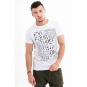 MF White férfi póló