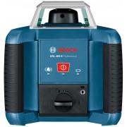 Nivelă laser rotativă Bosch Professional GRL 400 HV, 20 m, Diametru domeniu de lucru receptor 400 m, ± 0,08 mm/m, 635 nm, Acumulator NiMh, 061599403U