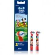 Oral B Stages Power EB10 Mickey Mouse cabeças de reposição para escova de dentes extra suave 2 un.