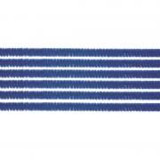 Merkloos 50x chenilledraad blauw 50 cm hobby artikelen