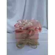 """Кутия за Подаръци """"Ухание на Роза"""" с Размери 90 x 90 x 60mm"""