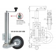 Ruotino VK 60-KH-200 VBB Winterhoff