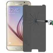 180 Degree Privacy Anti-glare 9H+ Surface Hardness 0.3 radians 2.5D Explosion-proof Tempered Glass Film for Samsung Galaxy S6 / G920(White)
