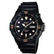 Casio Enticer Analog Black Dial Mens Watch - MRW-200H-1EVDF (A596)